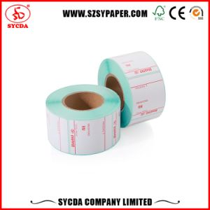 White Color Rolls Self Adhesive Label Paper pictures & photos