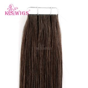 No Tangle Unprocessed Brazilian Human Virgin Wholesale Tape in Hair Extentions pictures & photos