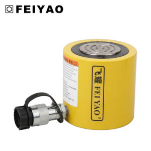 Hydraulic Jack 25 Ton Rcs Series High Quality Low Height Single Acting Hydraulic Cylinder pictures & photos