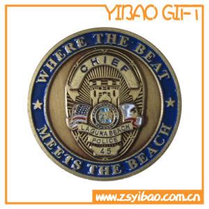 Custom Zinc Alloy Coin/Souvenir Coins with Wheel Border (YB-SM-89) pictures & photos