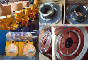 Slurry Pump Cover Plate Liner Completely Interchangeable with Warman pictures & photos