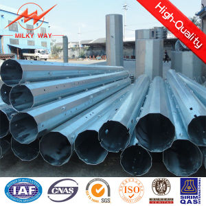 S500mc Galvanized Steel Pole for Transmission Line pictures & photos