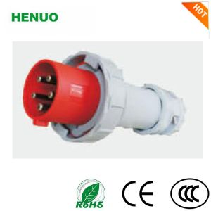 China Manufacture Electrical 32 AMP Industrial Plug & Socket 230V 3p with IP44 IP67 Prptection Grade pictures & photos