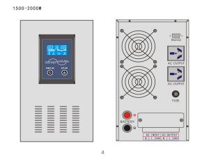 2000W Pure Sine Wave Solar Inverter pictures & photos