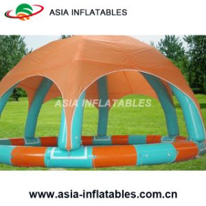 High Quality Durable Inflatable Pool with Tent for Sale pictures & photos