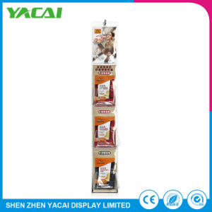 Unfolded Paper Connect Retail Exhibition Stand Floor Display Rack Factory pictures & photos