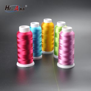 Viscose Rayon Embroidery Thread 250d pictures & photos