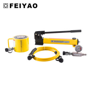 Low Height Mini Single Acting Hydraulic Lift Cylinder Jack pictures & photos