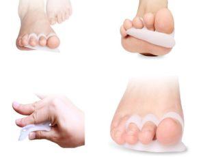 Bunion Treatment Big Toe Silicone Protector Toe Separator Hallux Valgus pictures & photos