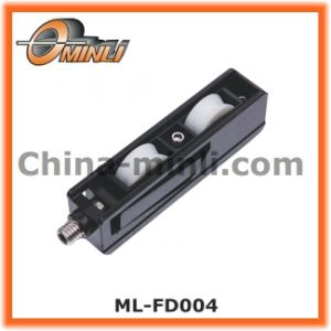 Zinc Bracket Double Plastic Pulley (ML-FD004) pictures & photos