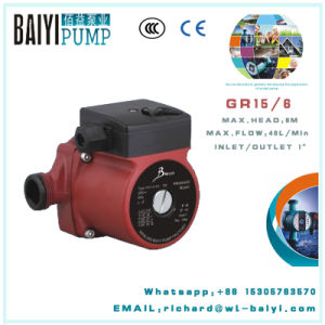Small Hot Water Circulation Pump 3 Speed Pump RS15/6g pictures & photos