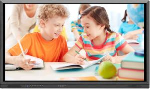 """China 86"""" 4K High Resolution Interactive Touch Display for Education"""