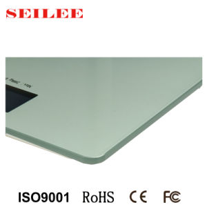 Large Platform (345X315mm) 8mm Tempered Glass Digital Personal Health Body Scale pictures & photos