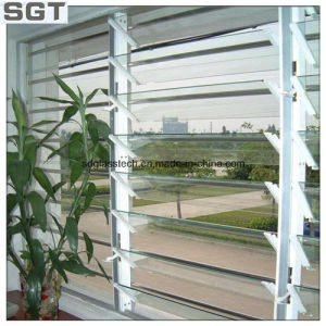 Clear Float Toughened Louver Glass Tabletop Glass pictures & photos