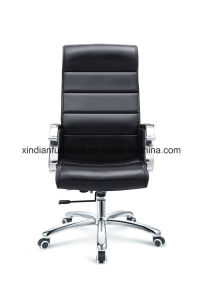 Comfortable Leather Swivel Metal Chair for Wholesale pictures & photos