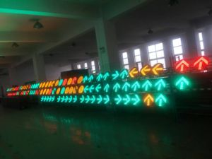 Red & Amber & Green Traffic Light / Traffic Signal for U-Turn pictures & photos