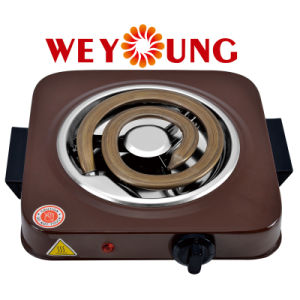 Adjustable Mini Single Electric Coil Hotplate Indoor Kitchen Oven