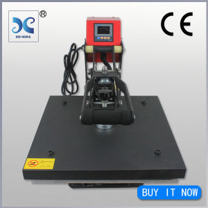 Semi-Automatic Automatic Grade and New Condition Lowest Price T Shirt Heat Press Machine (HP3804C) pictures & photos