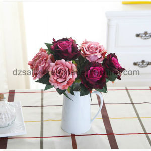 Artificial Single Wedding Rose Flower for Decoration (SW03336) pictures & photos