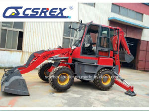 CS/Wz30-25 4WD Compact Backhoe Loaders with Front Loader pictures & photos