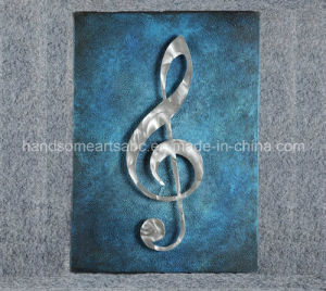 Music Note Aluminum Relievo / Metal Craft / Metal Wall Art Decor pictures & photos