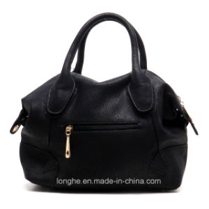Custom Newest Design Women PU Leather Handbag with Long Strap (ZX20368) pictures & photos