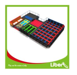 Multifunction Big Bounce Commercial Amusement Indoor Trampoline Park for Sale pictures & photos