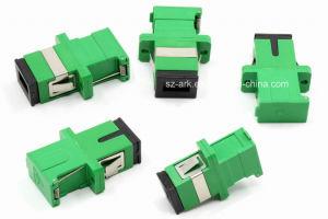 Sc/APC Green Shutter Fiber Optical Adapter pictures & photos
