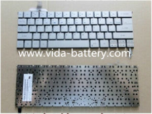 Laptop Keyboard for Acer Aspire S7 S7-191 Silver with Backlit pictures & photos