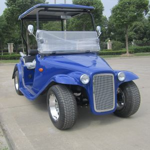 Chinese 4 Seater Smart Electric Classic Car with CE (DN-4D) pictures & photos