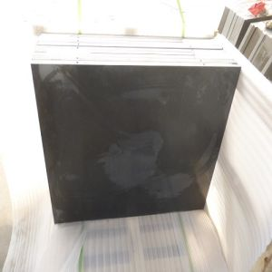 High-Polished Chinese Hebei Black Granite Tiles/Slabs for Floors/Stairs/Skirting Tiles