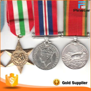 High Quality Souvenir Ww2 Italy Star Group Ribbon Medals for Sale pictures & photos