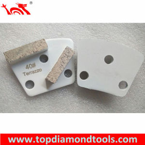 Trapezoid Diamond Grinding Shoe for Polishing Terrazzo pictures & photos