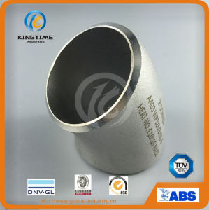 Ss ASTM 403 Wp 45D Sr Elbow Butt Weld Fitting Pipe Fitting (KT0239) pictures & photos