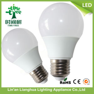 3W 5W 7W 9W 12W A60 85-265V 5W Aluminum +PC LED Light Bulb pictures & photos