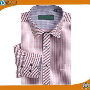 2017 Fashion Casual Men Shirt Long Sleeve Slim Fit Shirt pictures & photos