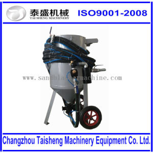 Pneumatic Control Portable/Movable Sand Blasting Machine/Cabinet