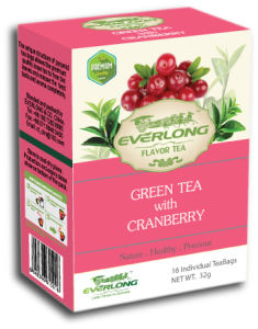 Cranberry Flavored Green Tea Pyramid Tea Bag Premium Blends Organic & EU Compliant (FTB1506) pictures & photos
