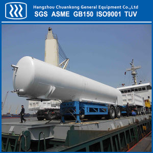 ASME GB Cryogenic Tanker LNG Liquid Oxygen Semi Trailer pictures & photos