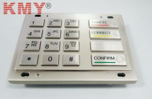 PCI Des Tdes Rsa Encrypted Keypad ATM Pin Pad (KMY3503A-PCI) pictures & photos
