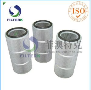 Professional Cylindrical Powder Cartridge Filter pictures & photos