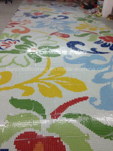 Glass Mosaic Pattern Wall Tile (HMP831) pictures & photos
