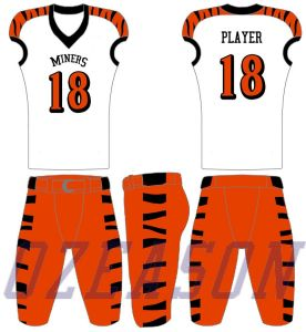 100% Polyester Sublimation Cool Dry American Football Jersey, Dolphin Jersey pictures & photos
