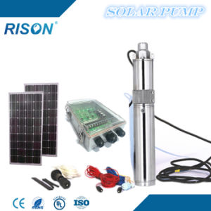 3inches Submersible Solar Pump (270W - 1.8m3/hr - 100m) pictures & photos