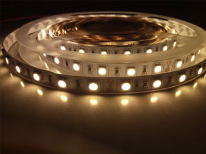Non-Wateproof IP20 Super Bright LED Strip Light with 3m Tape pictures & photos