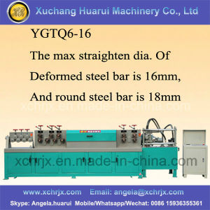 Hot Sale Bar Cutting Machine Wire Straightening and Cutting Machine pictures & photos