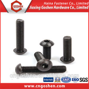 ISO7380 Black Hex Socket Button Head Cap Screws pictures & photos
