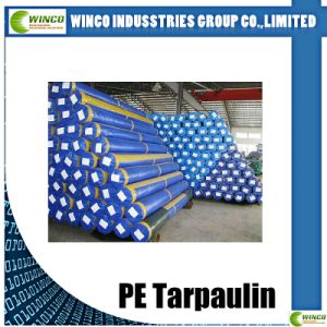 200GSM High-Quality Polyethylene Tarpaulin/PE Tarps Fabrics Sheet for Truck Covering pictures & photos