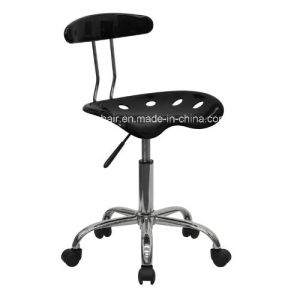 Roll Over Image to Zoom in Homall Chrome Computer Barstools Task Chair with Tractor Seat Zs-A8101 pictures & photos