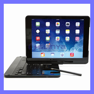 Bqb Certificated Backlight Optional ABS 360 Degree Rotating Bluetooth Keyboard for iPad Air 2 with Built-in Stylus Pen pictures & photos